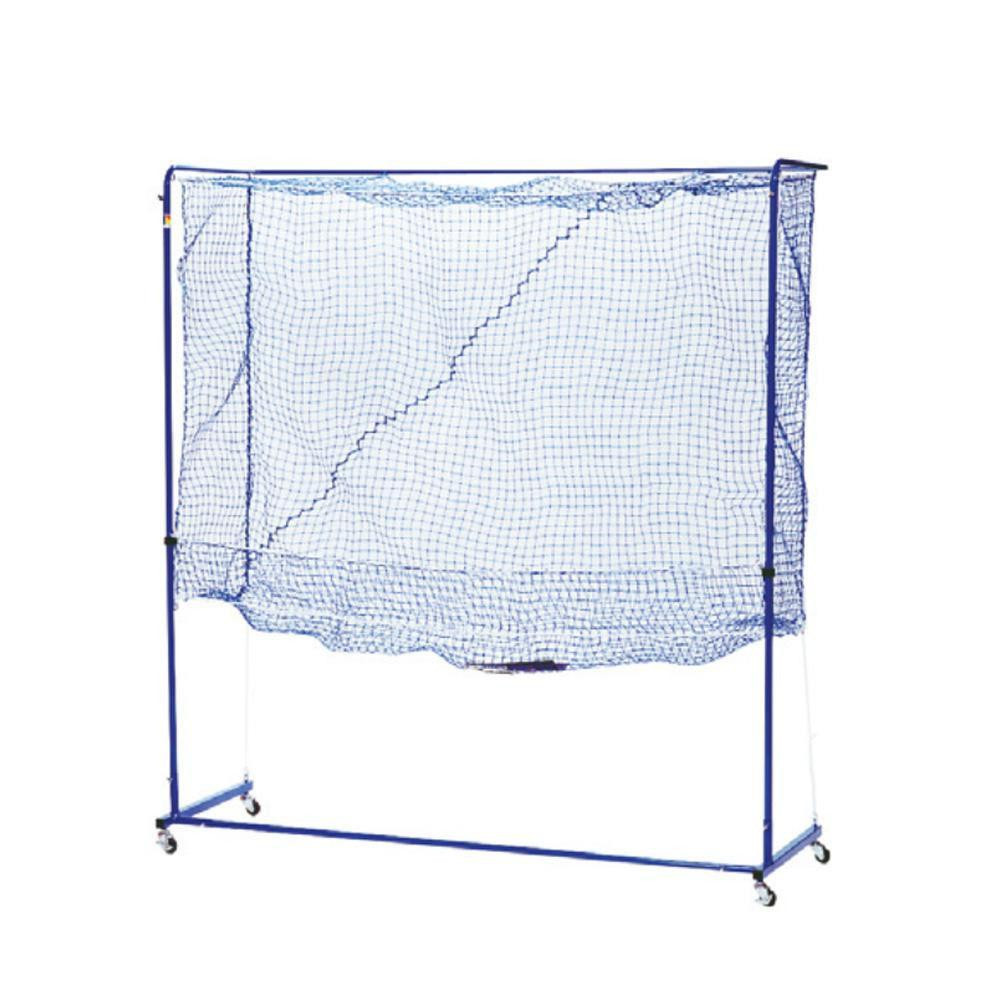 卓球トレメイト 多球練習用ネット製ゲージ 組立式 スタンダード ブルー 42-287【スポーツ】