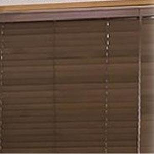 【代引き・同梱不可】ファーステージ ウッドブラインド 幅160cm×高さ91cm 右操作 バランス付き チルトポール50cm【敷物・カーテン】