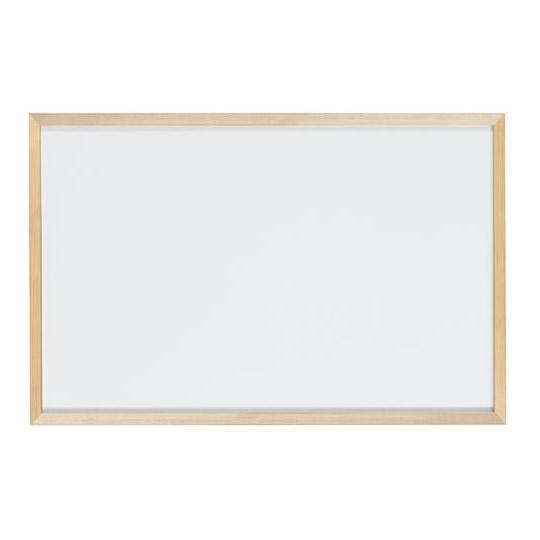【代引き・同梱不可】馬印 木枠ボード ホワイトボード 900×600mm WOH23【文具】