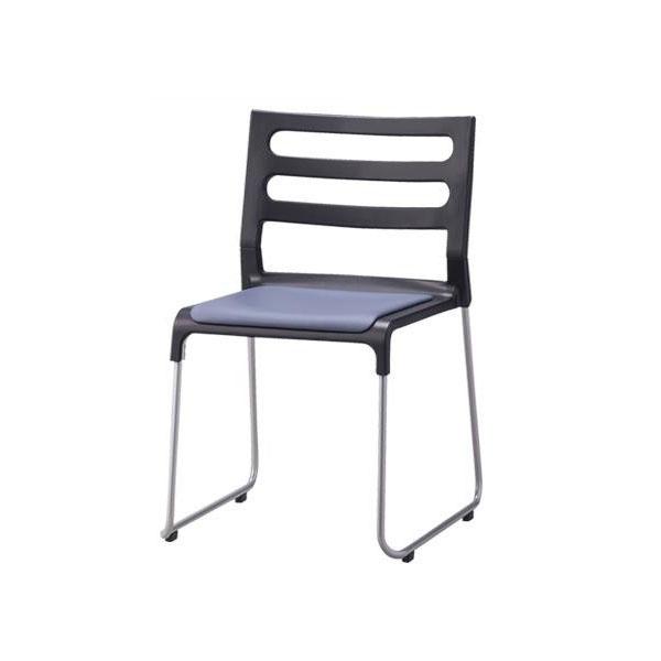 【代引き・同梱不可】アルミフレームスタッキングチェア CM378-MX 5脚セット【家具 イス テーブル】