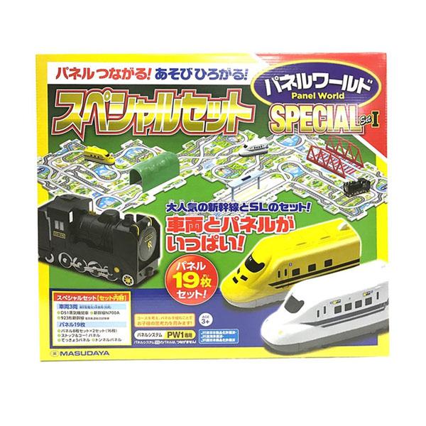 パネルワールド スペシャルセット 1(車両3両、パネル19枚)【玩具】