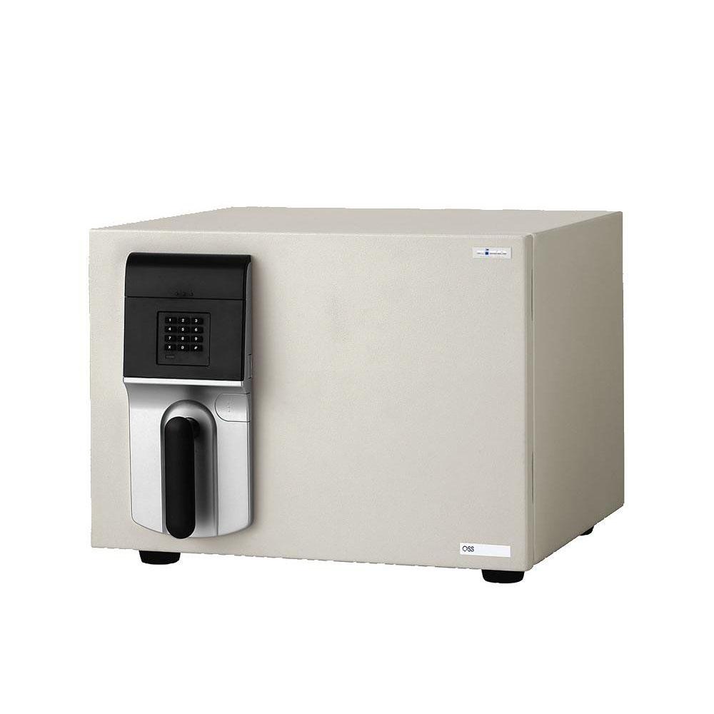 【代引き・同梱不可】家庭用テンキー式 小型耐火金庫 MEISTER マイスター 19.5L OSS-E【防犯】