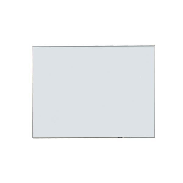 【代引き・同梱不可】馬印 Nシリーズ(エコノミータイプ)壁掛 無地ホワイトボード W1200×H900 NV34【文具】