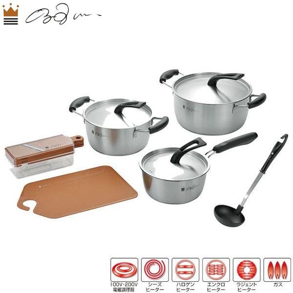 来栖けい キッチンツール6点セット KKSS-1500【鍋(パン)】