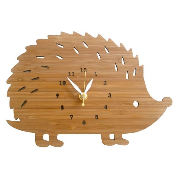 【代引き・同梱不可】Made in America DECOYLAB(デコイラボ) 掛け時計 HEDGEHOG-L ハリネズミ HH【置物・掛け時計】