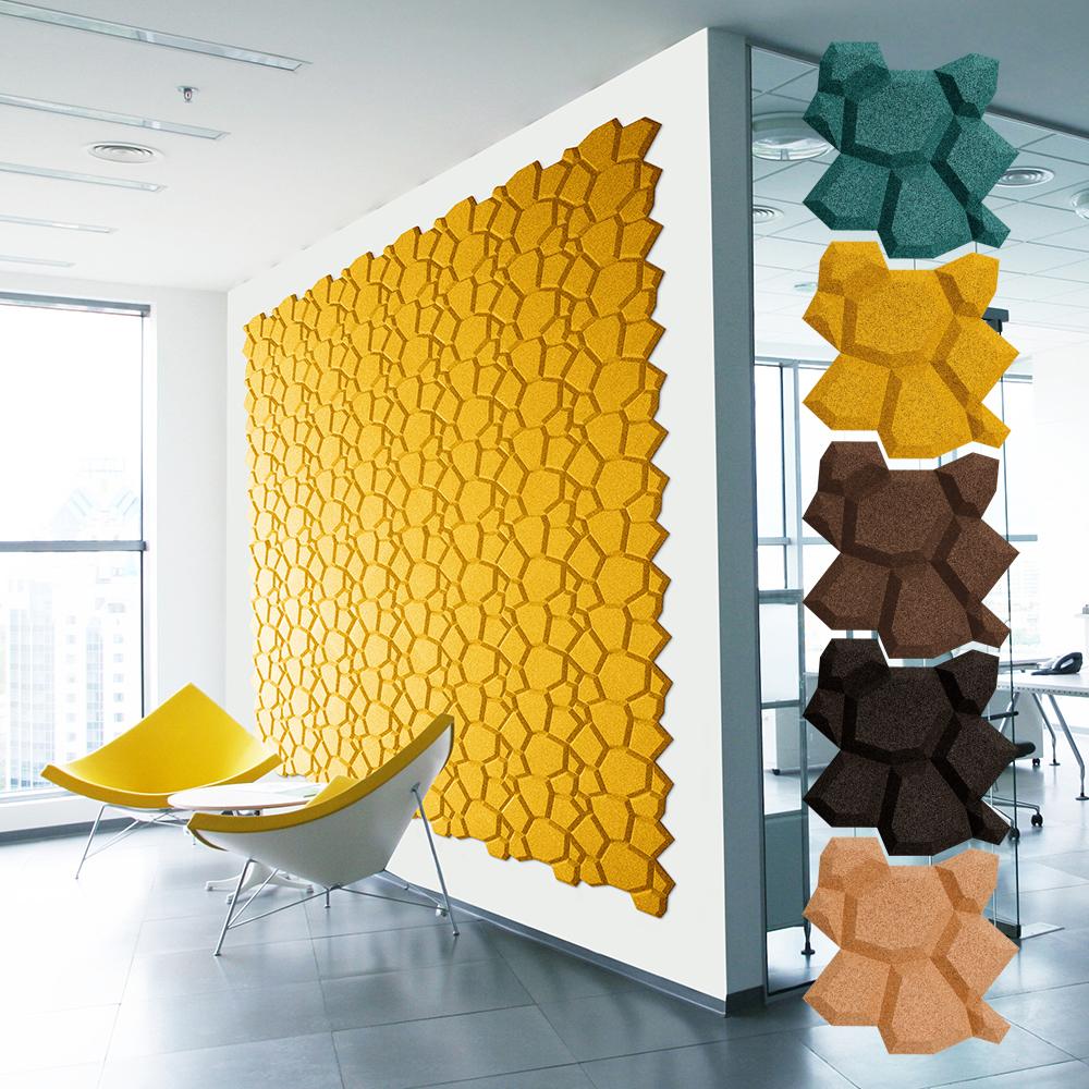 コルクウォール オーガニックブロック (1) beehive 16個入 CPMOB01【ガーデニング・花・植物・DIY】