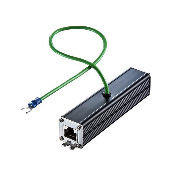 サンワサプライ 雷サージプロテクター(ギガビット対応) ADT-NF5EN【PC・携帯関連】