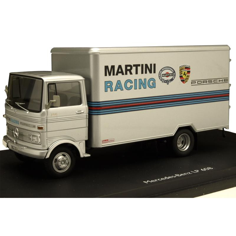 Schuco/シュコー メルセデス・ベンツ LP 608 MARTINI RACING グレー 1/43スケール 03528【玩具】