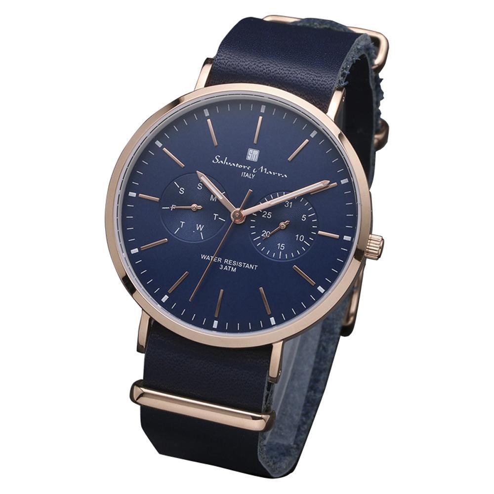 Salvatore Marra(サルバトーレマーラ) 腕時計 SM15117-PGNVPG【腕時計 男性用】