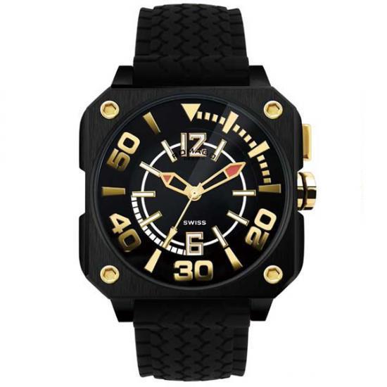 ROMAGO DESIGN (ロマゴデザイン) Cool series クールシリーズ 腕時計 RM018-0073PL-BK【腕時計 男性用】