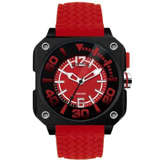 ROMAGO DESIGN (ロマゴデザイン) Cool series クールシリーズ 腕時計 RM018-0073PL-RD【腕時計 男性用】