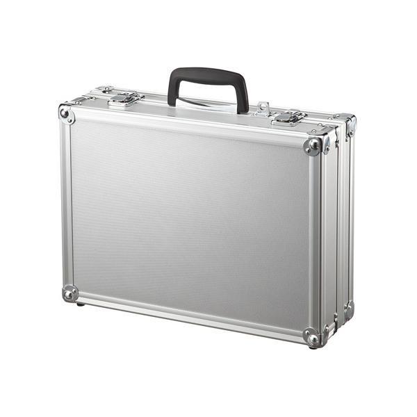 精密機器やパソコンの持ち運びや保管に適しています。 サンワサプライ セキュリティ対応アルミケース BAG-AL5SL【PC・携帯関連】