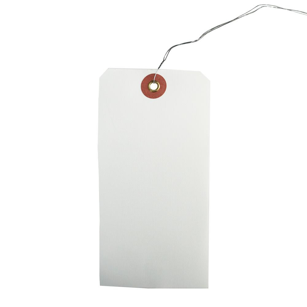 ササガワ タカ印 25-170 荷札 布札白 防水加工仕上 (H120×W60mm) 1000枚【文具】