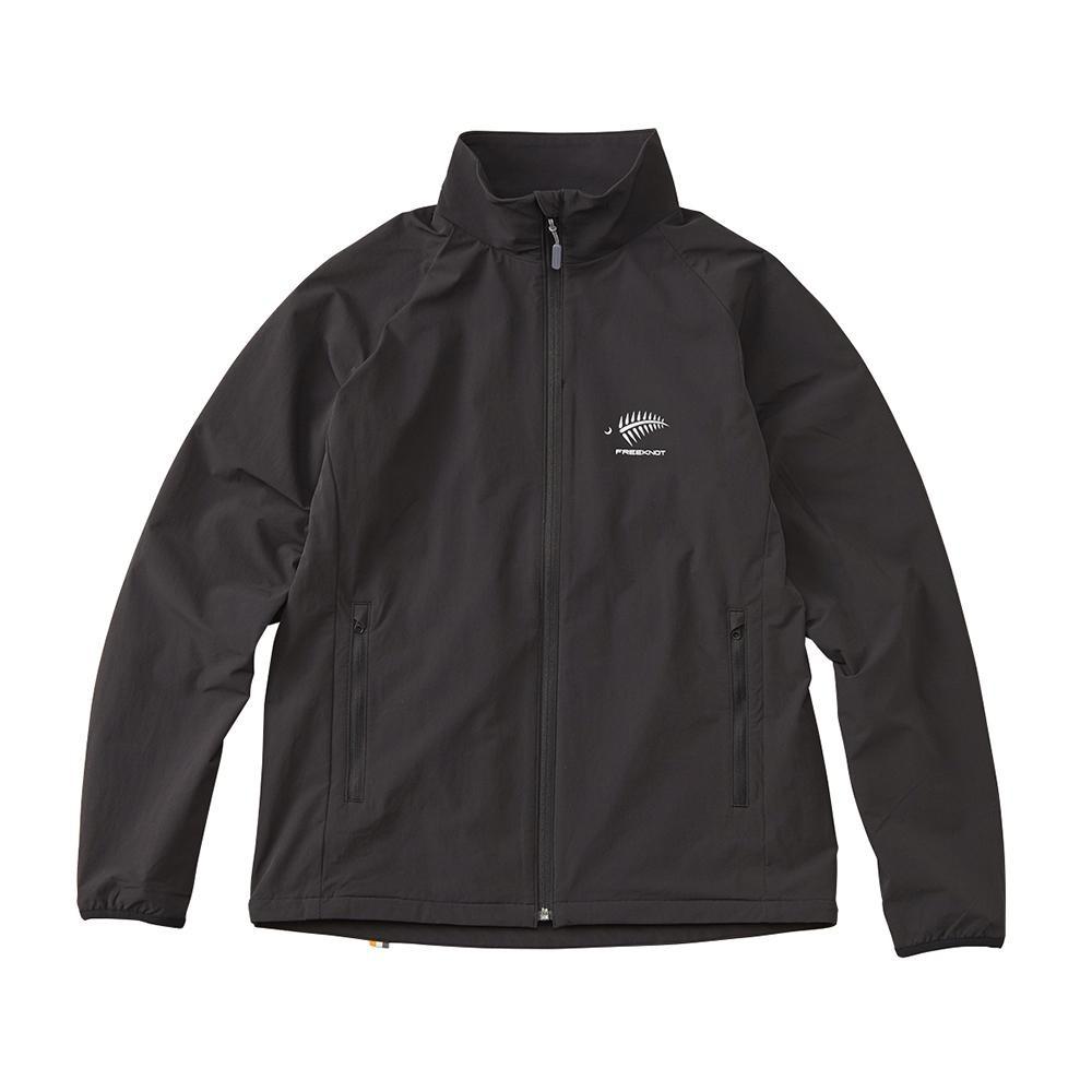 FREE KNOT フリーノット FOURON ライトストレッチジャケット ブラック(90) 3Lサイズ Y1136-3L-90【アウトドア】