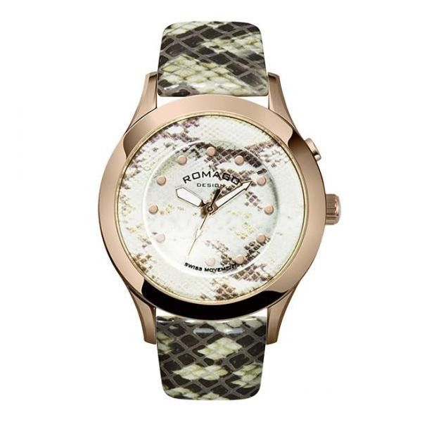 ROMAGO DESIGN (ロマゴデザイン) RM047-0314ST-RG 腕時計【腕時計 男性用】
