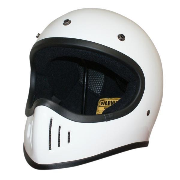 ダムトラックス(DAMMTRAX) BLASTER-改 ヘルメット WHITE L【カー・自転車】