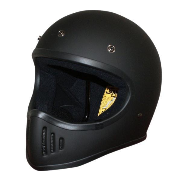 ダムトラックス(DAMMTRAX) BLASTER-改 ヘルメット MAT BLACK M【カー・自転車】