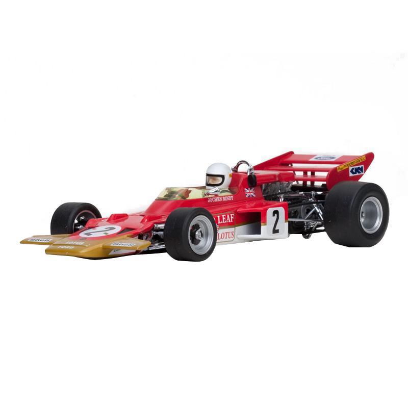 Quartzo/カルツォ ロータス 72C - ♯24 Emerson Fittipaldi (1970 USA Grand Prix Winner) 1/18スケール 18270【玩具】