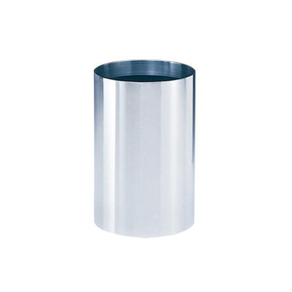 ステンレス製でシンプルな円柱型ゴミ箱。 ぶんぶく インテリアボックス 7.6L M-Z-3【その他インテリア】