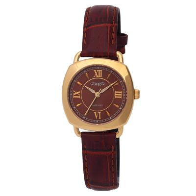 AUREOLE(オレオール) レザー レディース腕時計 SW-579L-2【腕時計 女性用】