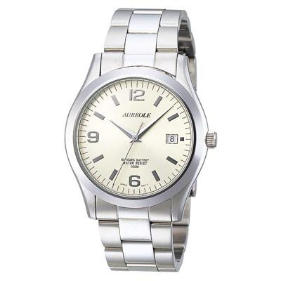 AUREOLE(オレオール) ドレス メンズ腕時計 SW-409M-4【腕時計 男性用】