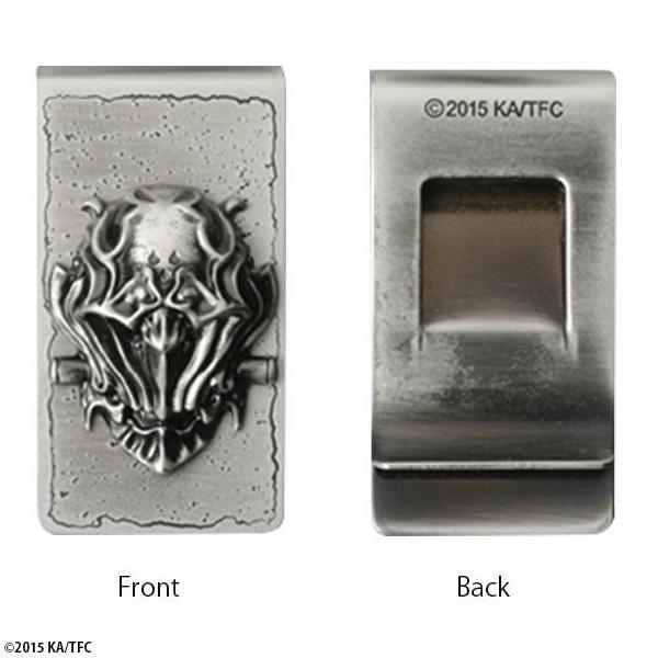 旧魔界語で 友 期間限定特価品 を意味するザルバのマネークリップ 牙狼 GARO -GOLDSTORM-翔 魔導輪ザルバシールド カードケース 70329 年末年始大決算 マネークリップ 財布