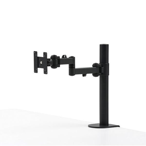 サンワサプライ 高耐荷重水平アーム (高さ450mm) CR-LA1701BK【オフィス収納】