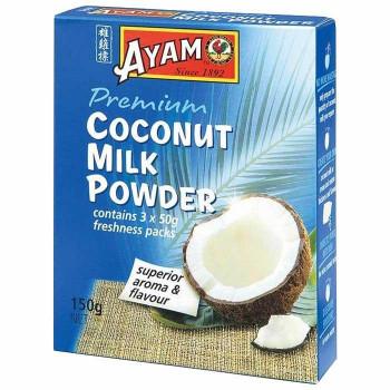 パウダー状のココナッツミルク 代引き 同梱不可 アヤム セットアップ セール品 ココナッツミルク パウダー A3-11 8個セット 50g×3