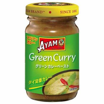 アジアの伝統料理をご家庭で 代引き 同梱不可 アヤム グリーンカレーペースト 安心の定価販売 12個セット A6-40 ☆正規品新品未使用品 100g
