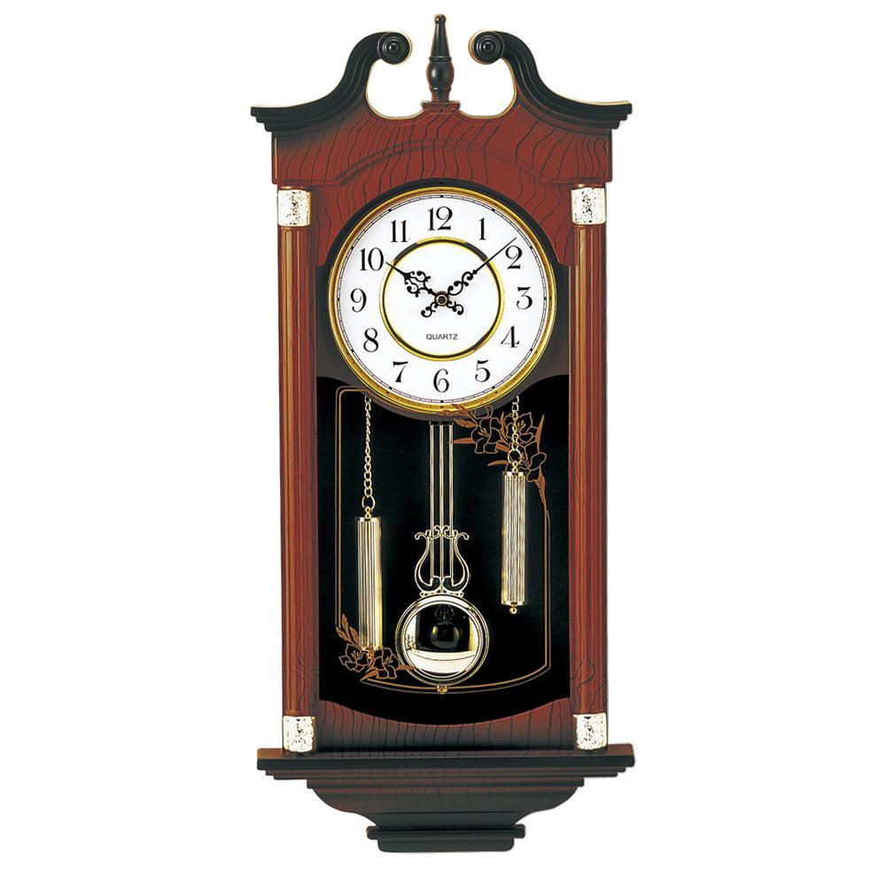 東出漆器 シンフォニークォーツ 正時打 1317【置物・掛け時計】