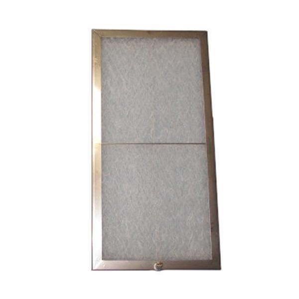 東洋機械 ガラス繊維 レンジフードフィルター ネジ止めタイプ 39.2×19.6 ステンレス製取付用枠3枚+フィルター3枚【その他インテリア】