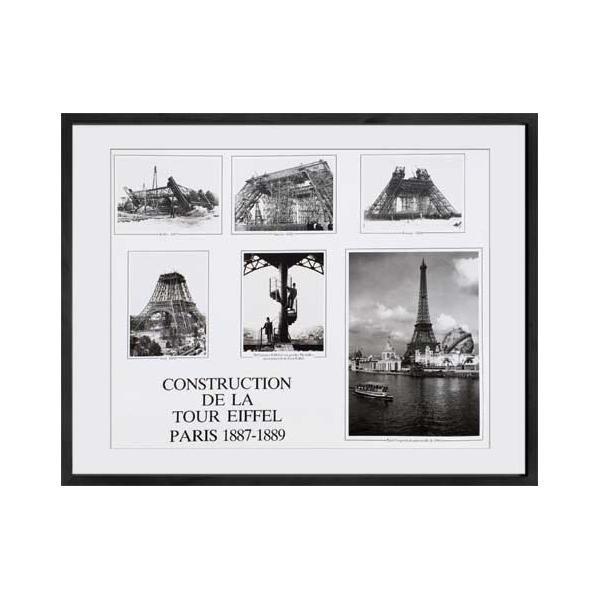 速くおよび自由な アートコレクション CONSTRUCTION DE LA DE LA TOUR EIFFEL PARIS CONSTRUCTION 1887-1889 IPG-51320【その他インテリア】, Champion_Hanes 【オフィシャル】:fe5bac2c --- mail.gomotex.com.sg