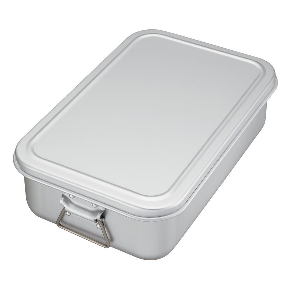 N-80 蒸気用炊飯鍋 アルマイト加工 6.3L 3.5升用 5101855【鍋(パン)】