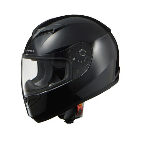 リード工業 STRAX フルフェイスヘルメット ブラック LLサイズ SF-12【カー・自転車】