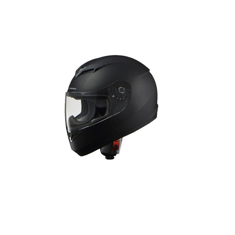 リード工業 STRAX フルフェイスヘルメットマットブラック Mサイズ SF-12【カー・自転車】