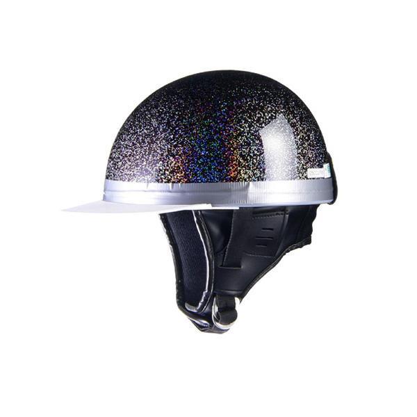 リード工業 HARVE コルクハーフヘルメット ダークパープルギャラクシー フリーサイズ HS-501【カー・自転車】