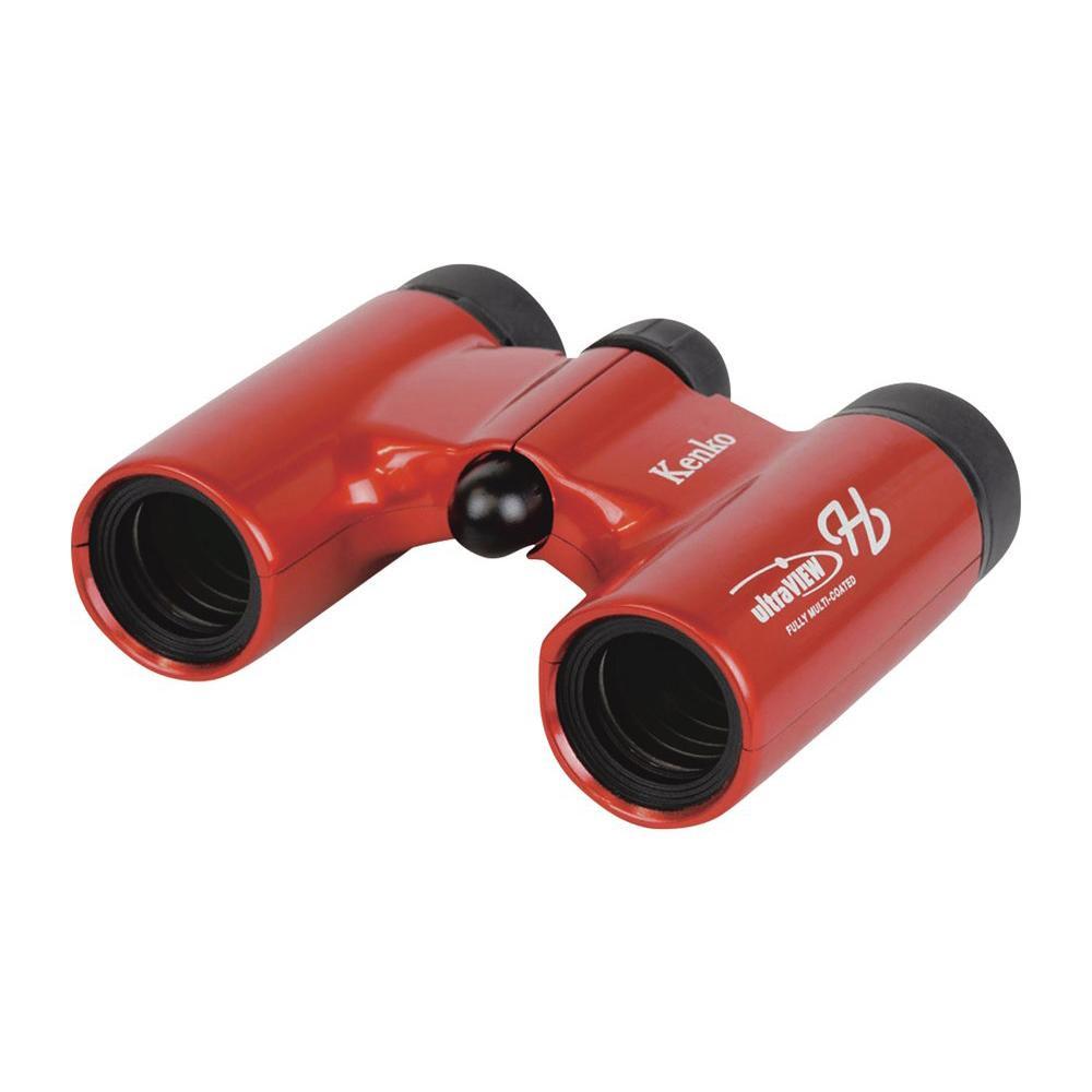 双眼鏡 ウルトラビューH 8×21DH FMC レッド 071117【デジタルカメラ】