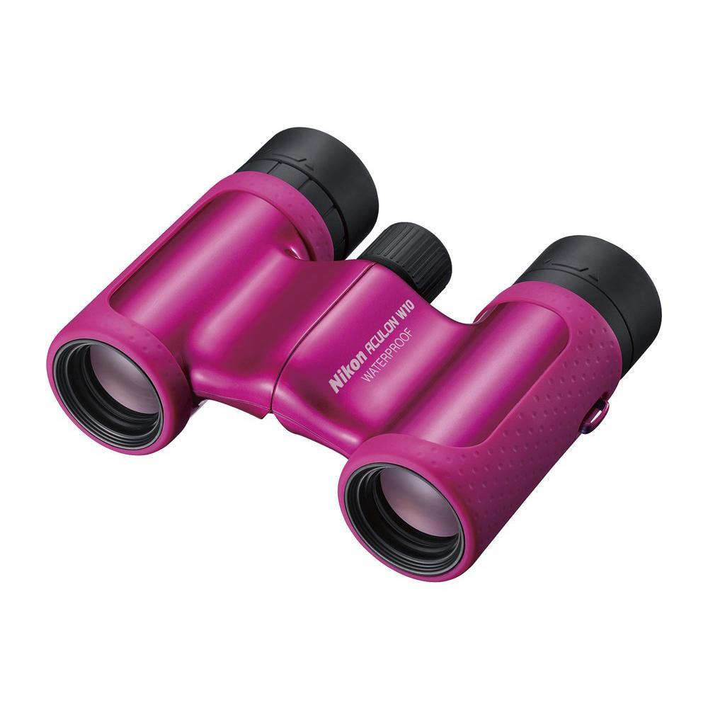 双眼鏡 BAA846WB アキュロン W10 8×21 ピンク 071058【デジタルカメラ】