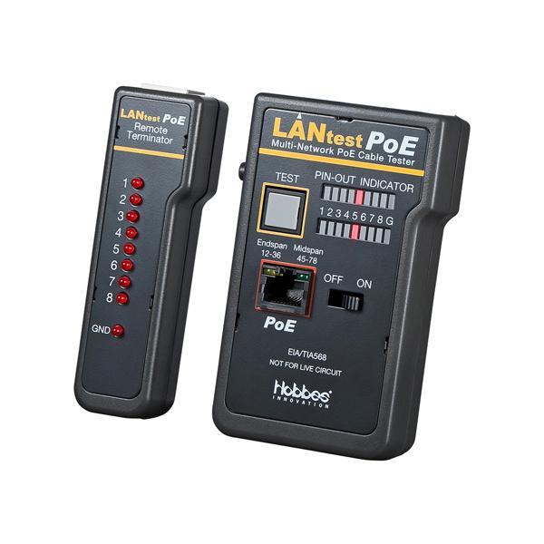 サンワサプライ PoE LANケーブルテスター LAN-TST5【PC・携帯関連】