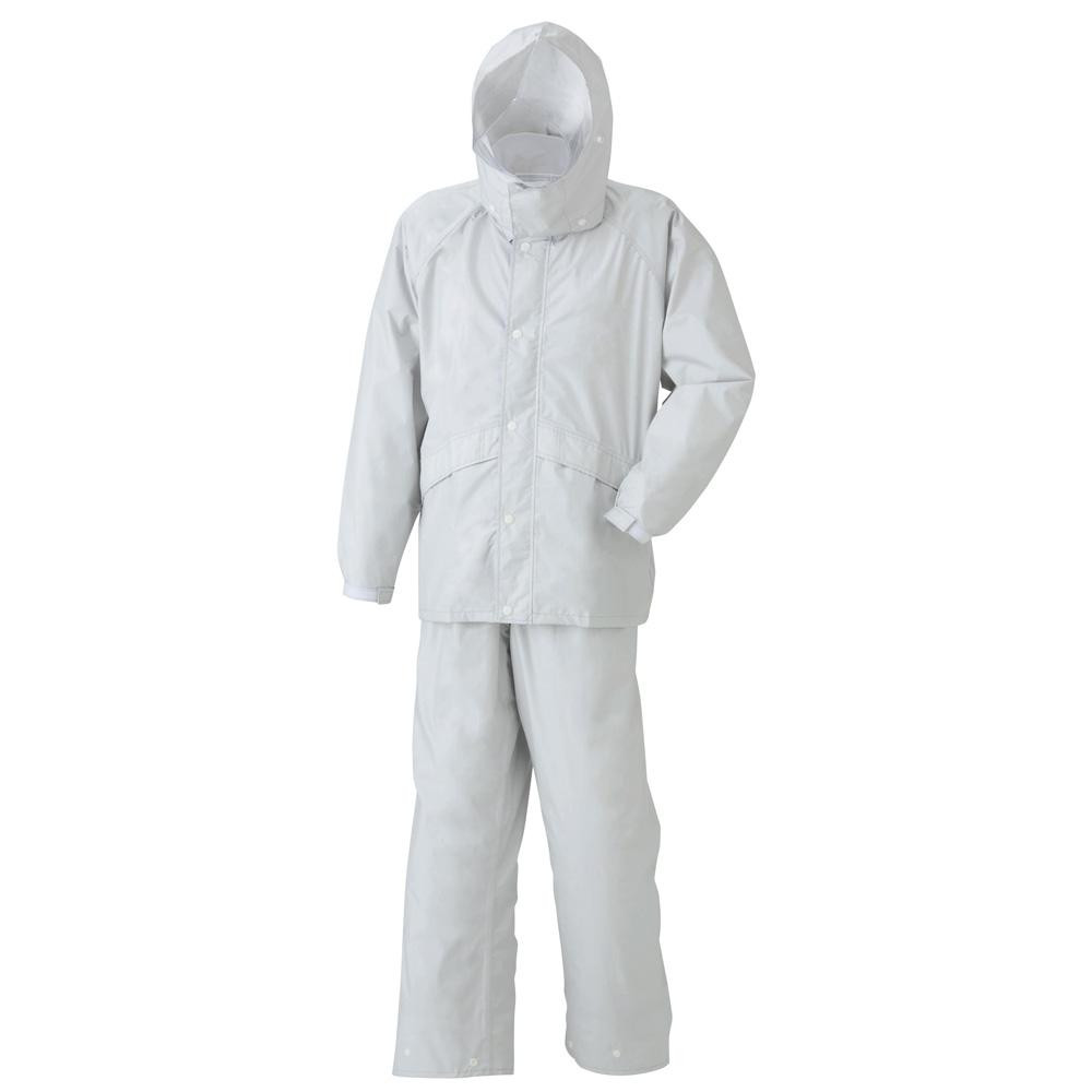 スミクラ レインウェア 透湿ストリートスーツ A-625 シルバー BEL【メンズ(その他)】