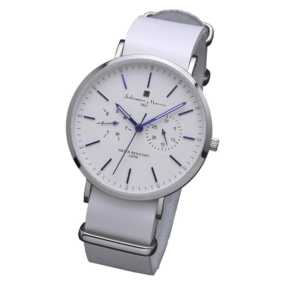 Salvatore Marra(サルバトーレマーラ) 腕時計 SM15117-SSWHBL【腕時計 男性用】