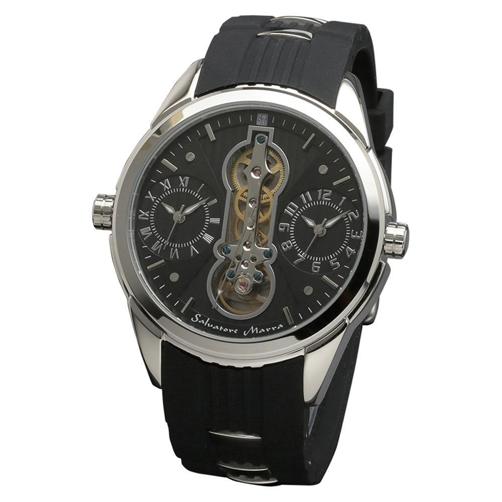 Salvatore Marra(サルバトーレマーラ) 腕時計 男性用】 Salvatore SM18113-SSBK 腕時計【腕時計 男性用】, 赤ちゃんの肌着 ほほえみ工房:8738eaf1 --- officewill.xsrv.jp