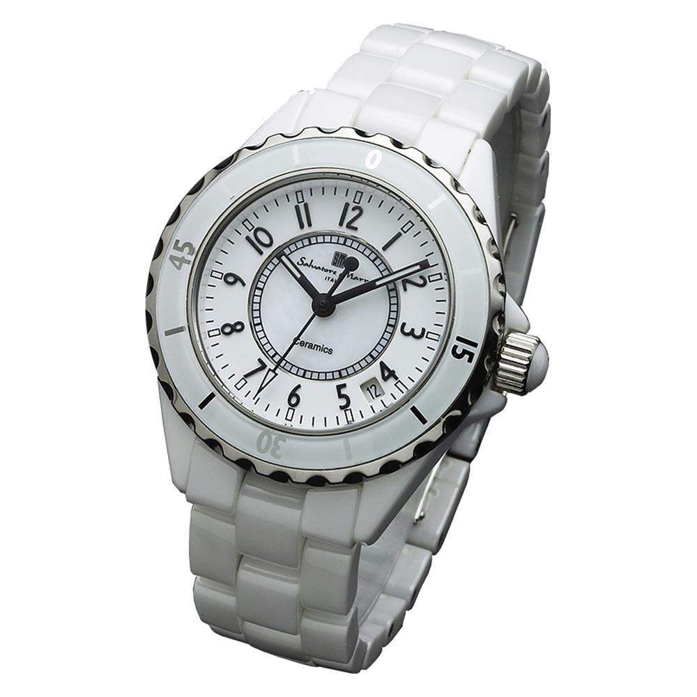 Salvatore Marra(サルバトーレマーラ) 腕時計 SM15120-WHA【腕時計 男性用】