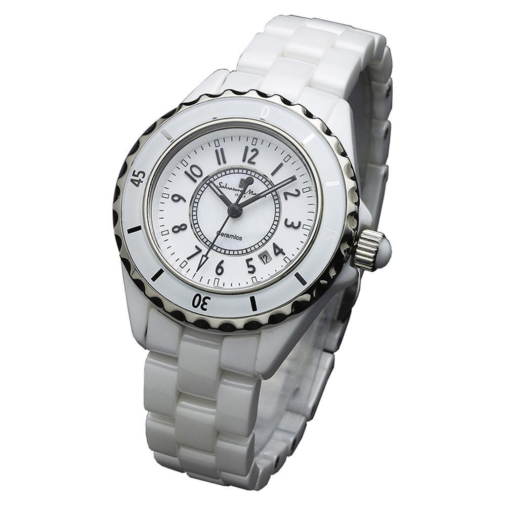 Salvatore Marra(サルバトーレマーラ) 腕時計 SM15151-WHA【腕時計 女性用】