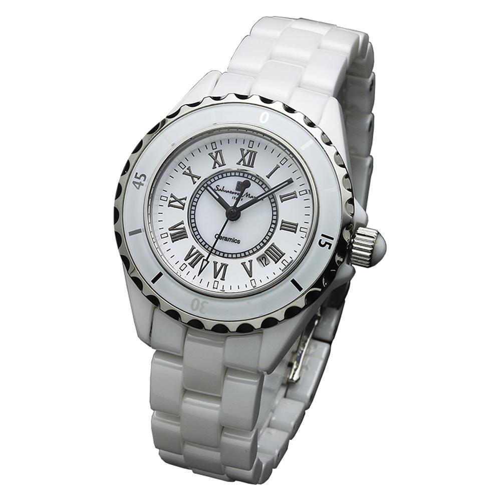 Salvatore Marra(サルバトーレマーラ) 腕時計 腕時計 Salvatore SM15151-WHR【腕時計 女性用 女性用】】, アタゴ:541a7fe9 --- officewill.xsrv.jp