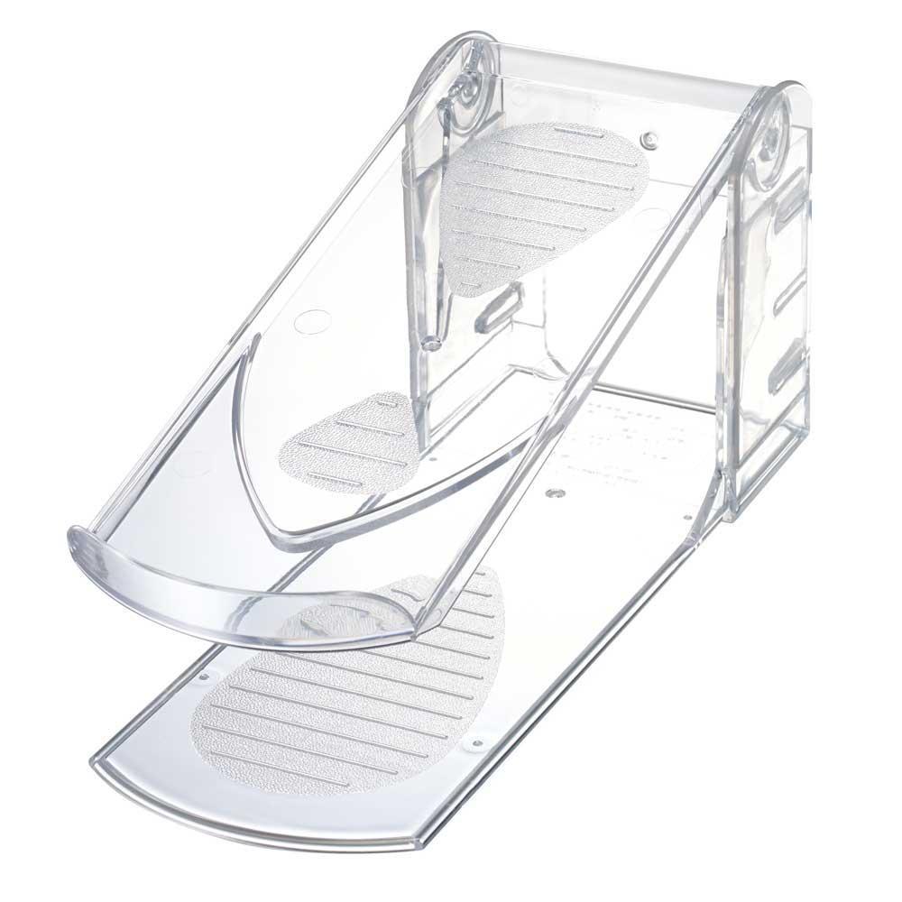 ハイヒール対応 3段階高さ調節付き 靴収納ハーフ <セール&特集> クリア 低価格 オフィス収納 C I-558