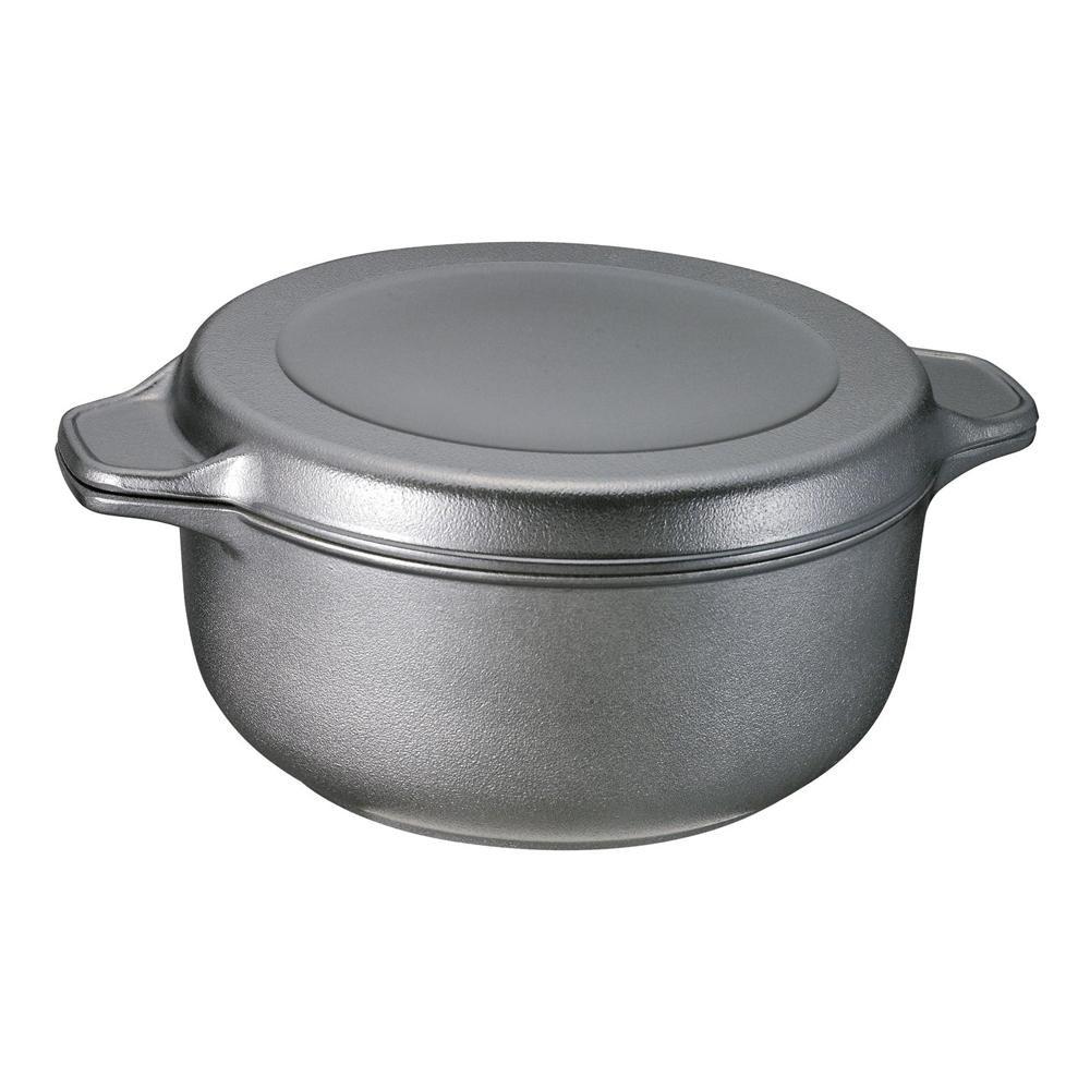 味わい鍋 両手鍋22cm AZK-22r 6145-087【鍋(パン)】