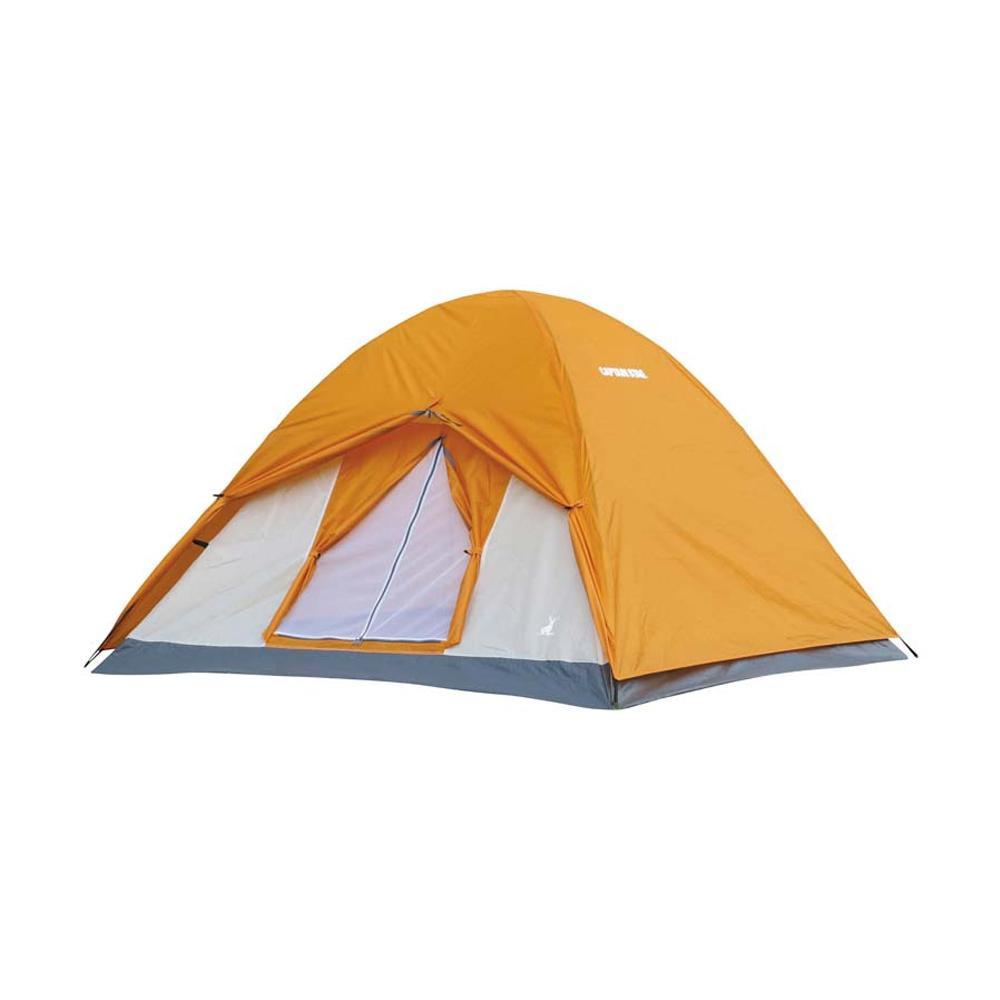 組立簡単 軽量かつコンパクトに収納できるドームテント 日本 CAPTAIN STAG キャプテンスタッグ UA-0050 クレセント 即出荷 アンバー 3人用ドームテント アウトドア