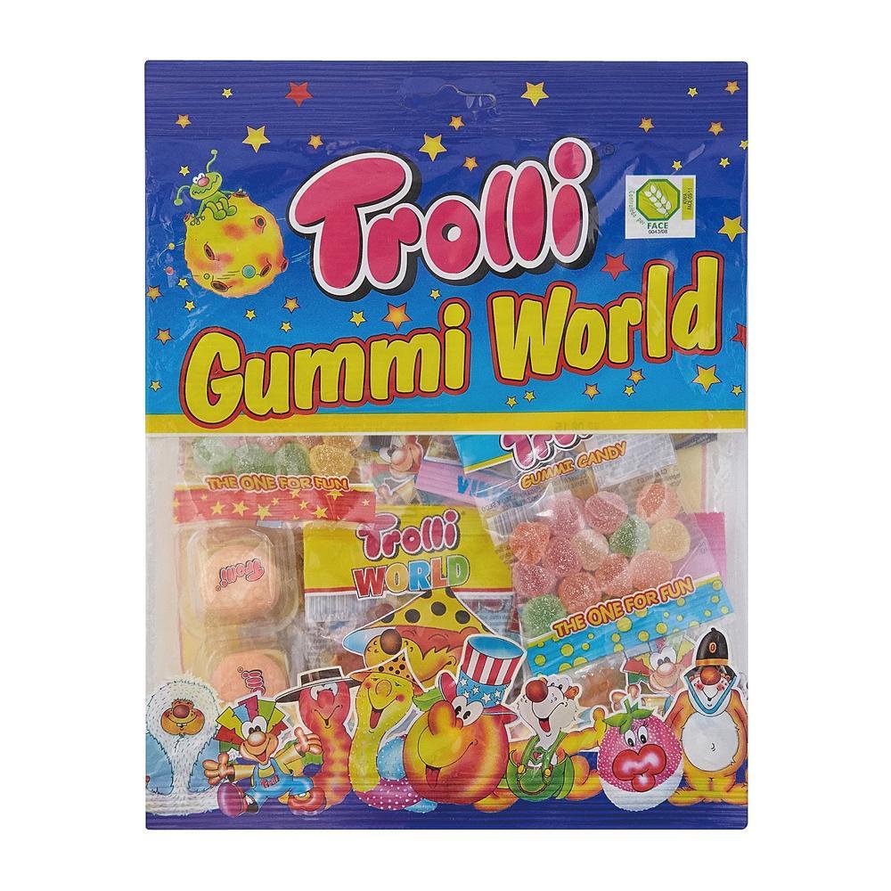 【代引き・同梱不可】Trolli(トローリ) グミワールド 200g×14個セット【スイーツ・お菓子】