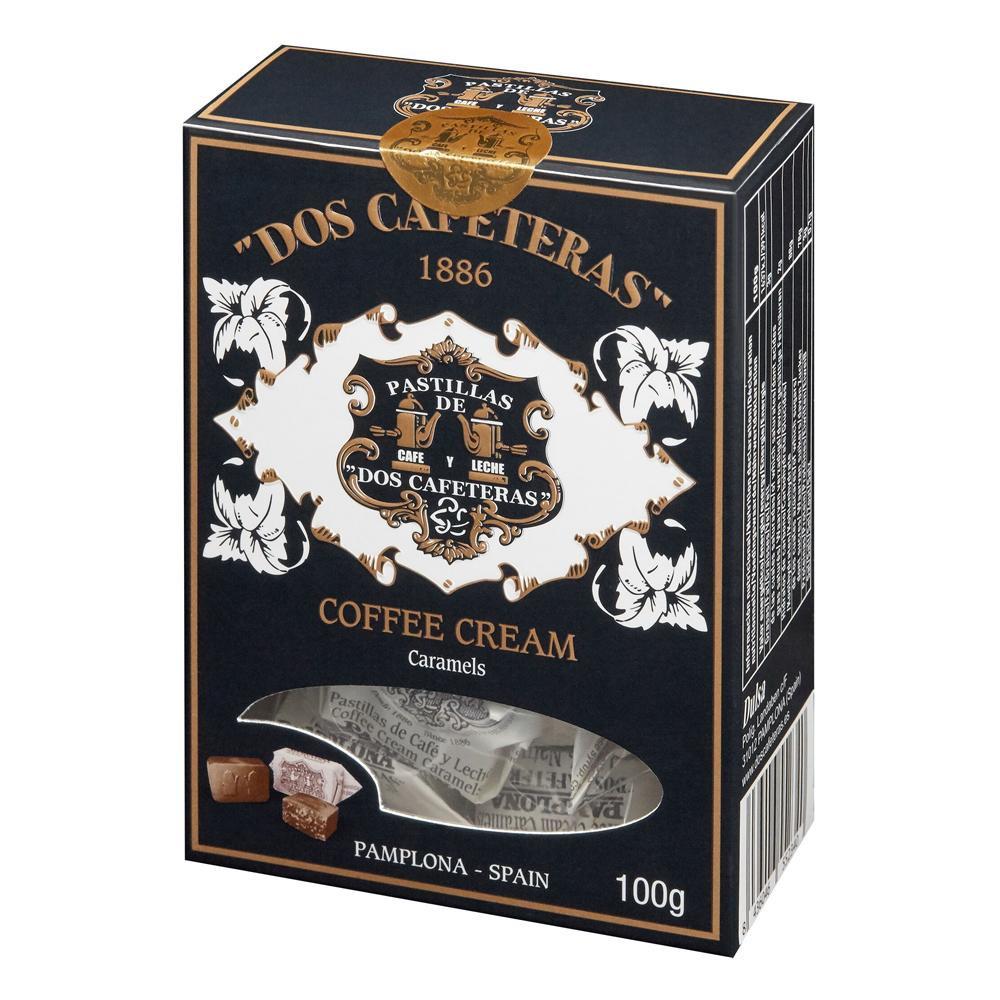 【代引き・同梱不可】DOS CAFETERAS(ドスカフェテラス) コーヒークリームキャラメル 100g×12個セット【スイーツ・お菓子】